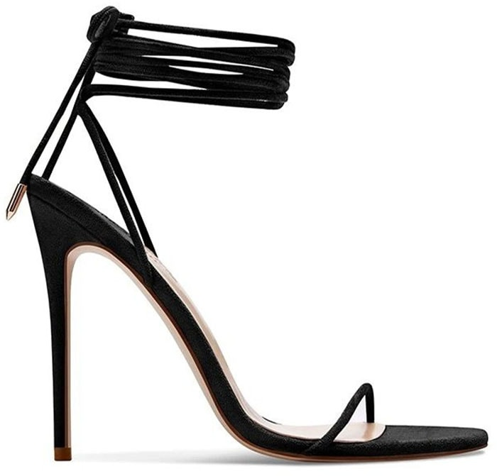 Femme's Barely-There is a vegan sandal that features rope-like straps that wrap around the ankles