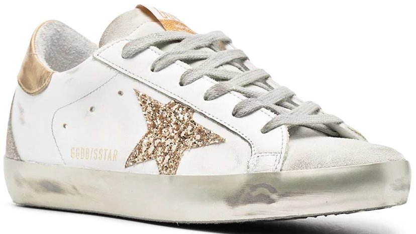 Super-Star sneakers by Golden Goose with signature star patch to the sides