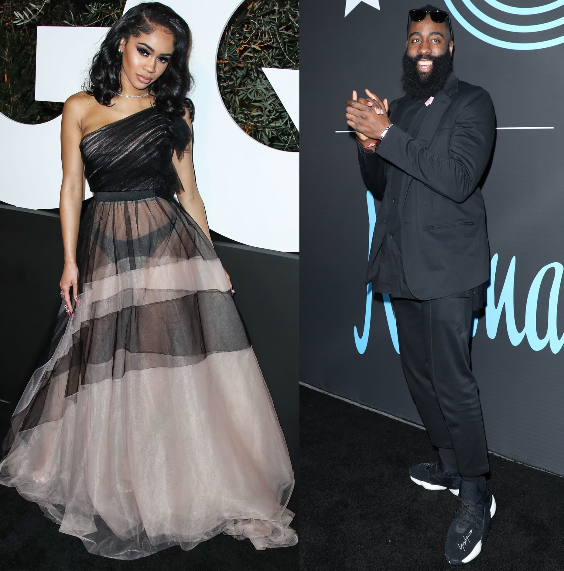 Rapper Saweetie and NBA superstar James Harden are rumored to be dating