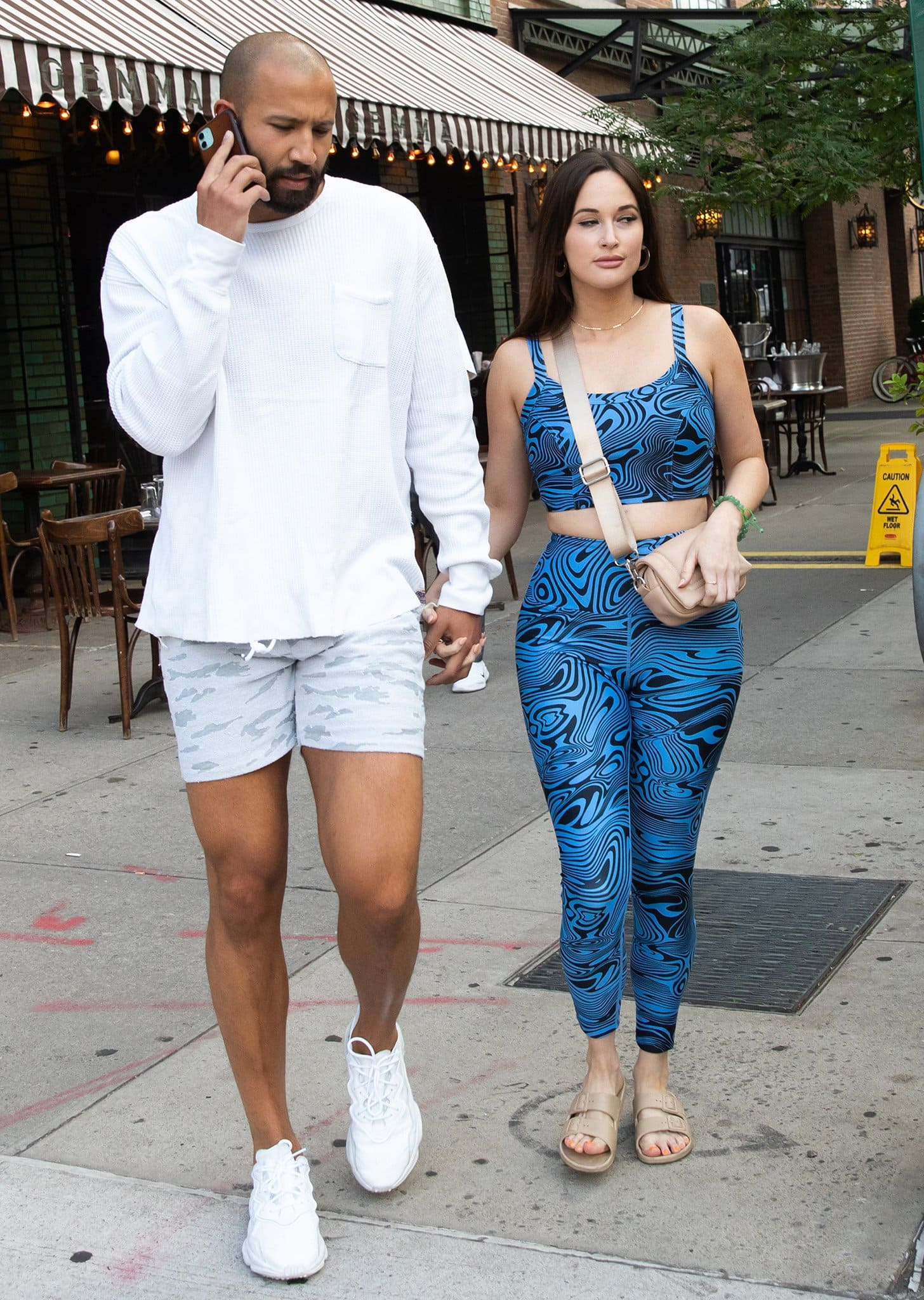 Kacey Musgraves steps out with new boyfriend Cole Schafer in New York City on June 20, 2021