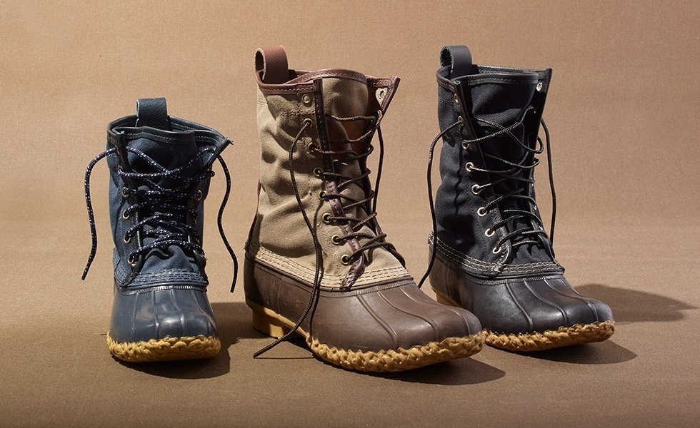 L.L. Bean's waxed canvas boots for men, women, and kids