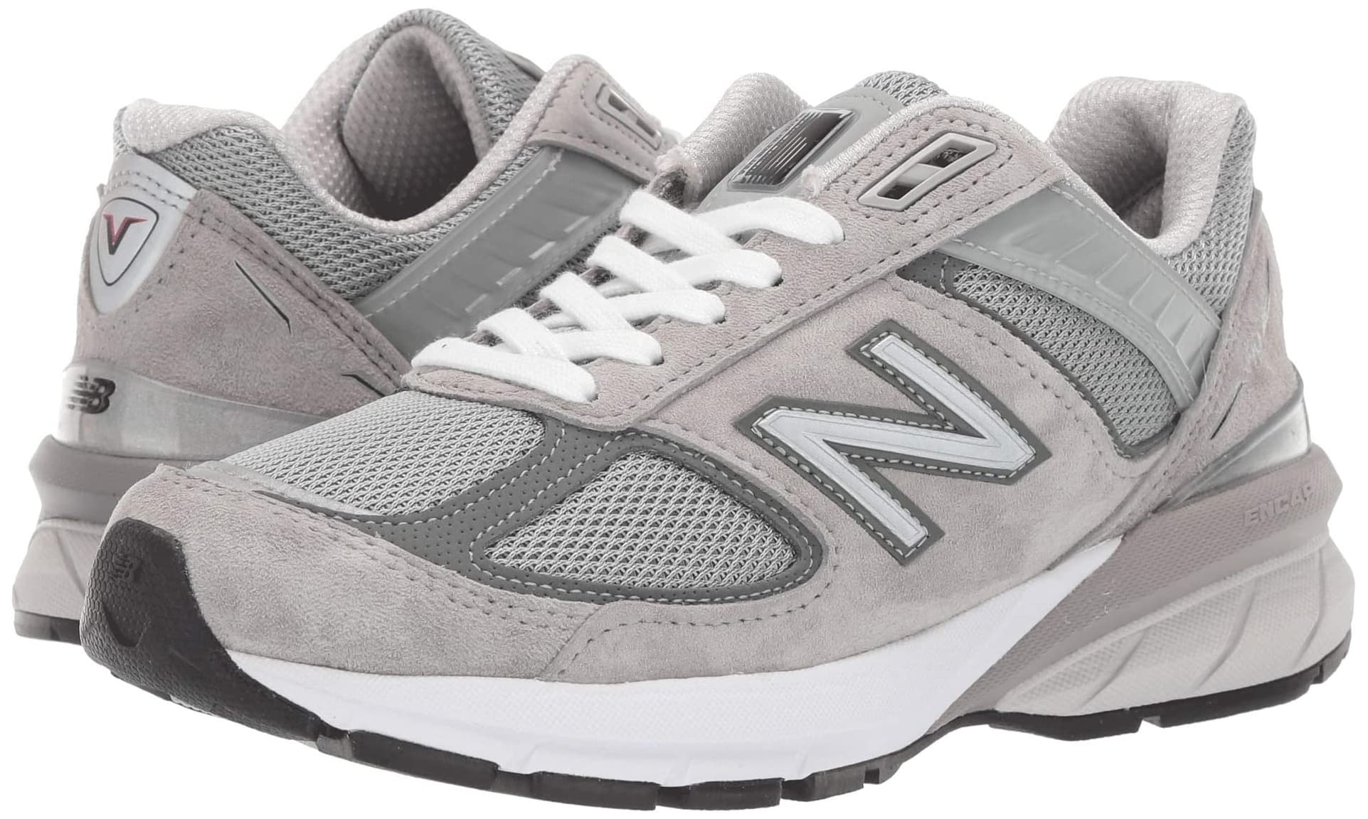 Designed for neutral runners, the New Balance 990V5 shoes features a timeless silhouette incorporated with modern technology