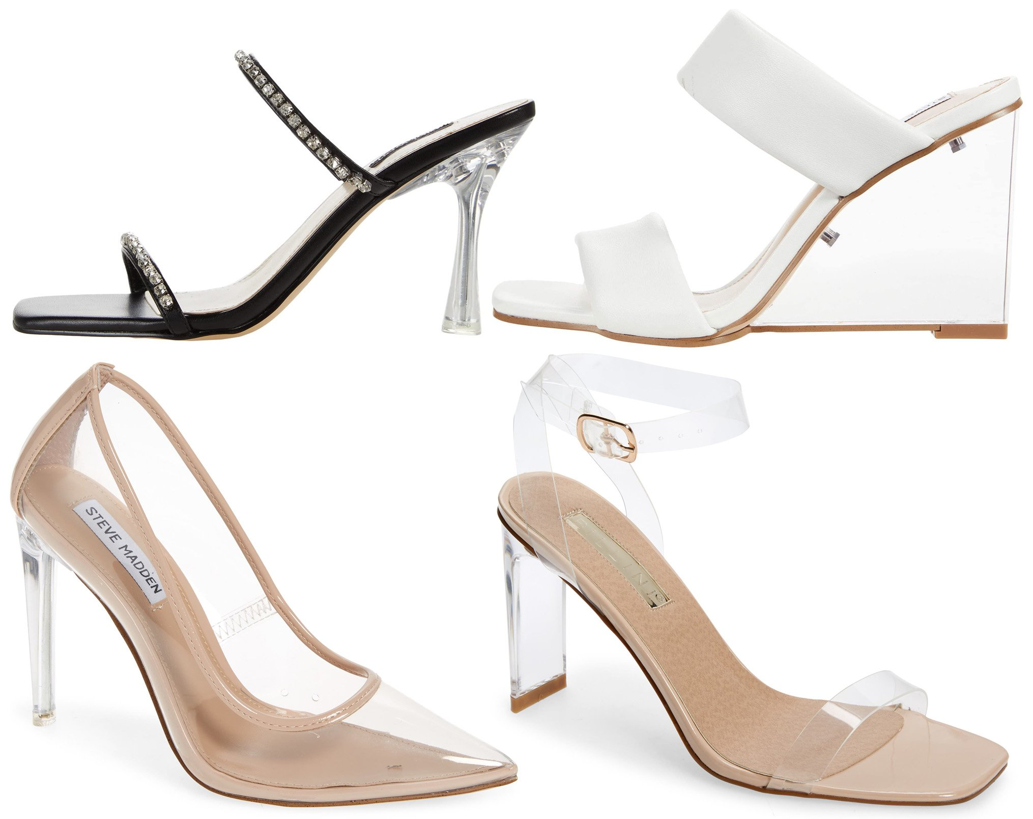 Look chic without breaking the bank with tough and durable PVC heels