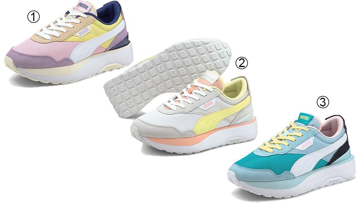3 best chunky women's Puma sneakers