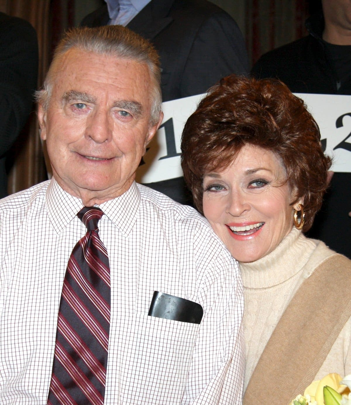 Beloved actor Raymond MacDonnell, best known for his role as Dr. Joe Martin on the daytime soap opera All My Children, pictured with his on-screen wife Lee Meriwether