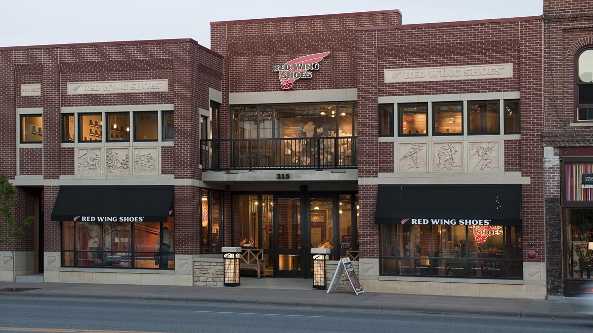 Red Wing Shoe Company is a family-owned business that was founded in Red Wing, Minnesota in 1905