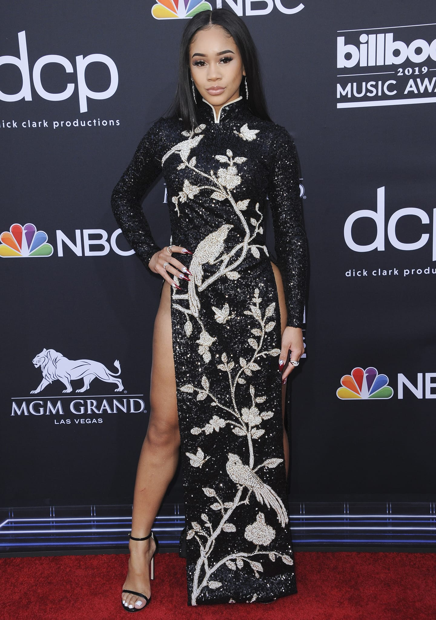 Saweetie at the 2019 Billboard Music Awards on May 2, 2019