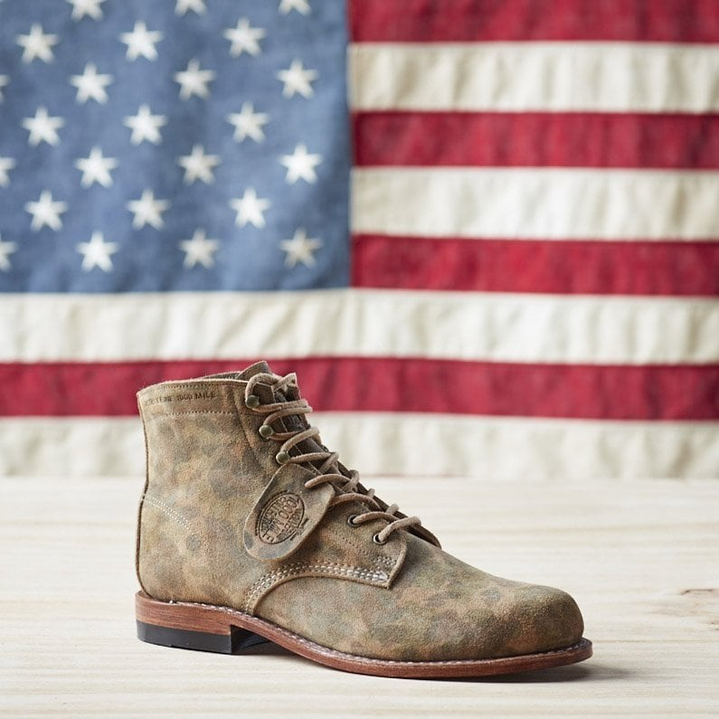 Wolverine's iconic 1000 Mile boot is handcrafted in the USA
