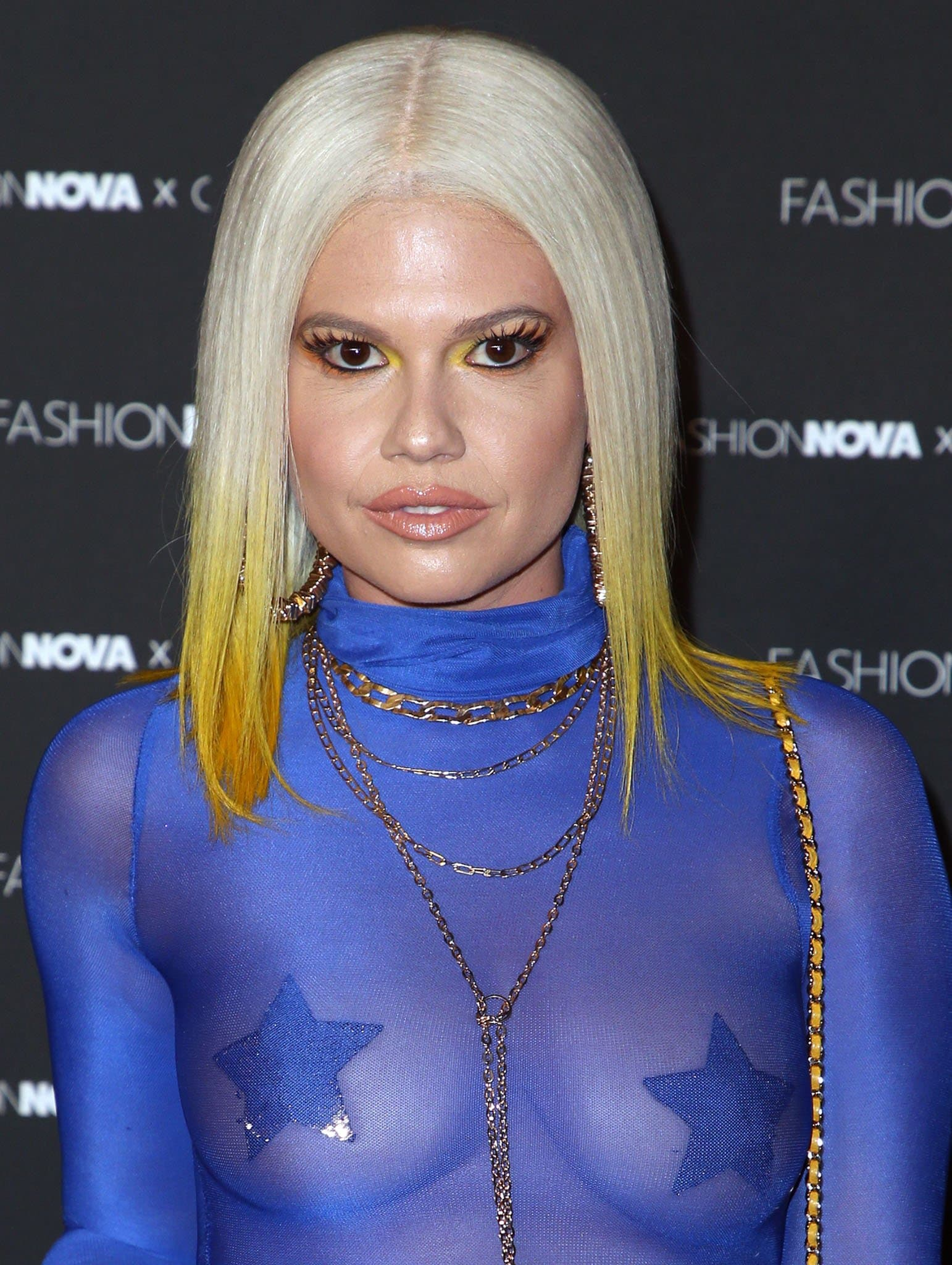 Chanel West Coast pictured at Fashion Nova x Cardi B Collection Launch Party on May 9, 2019