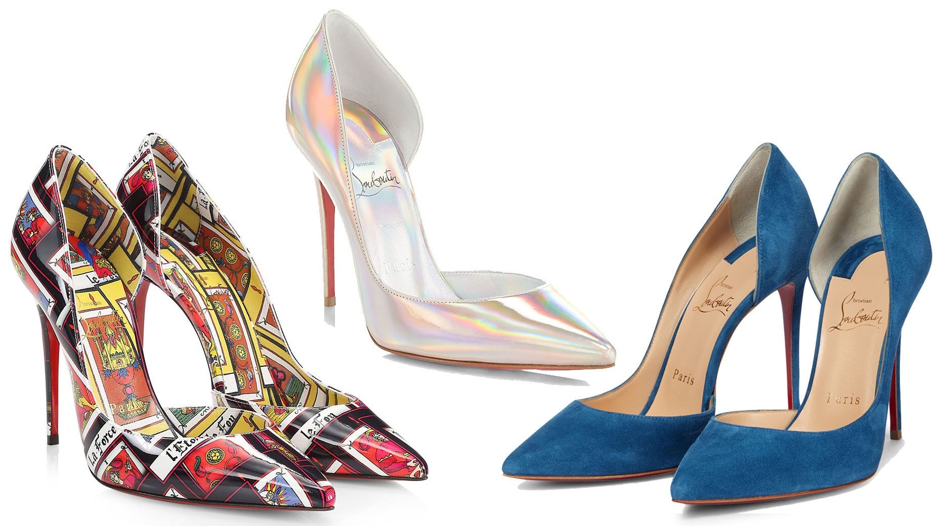 Aside from the classics, you can find the Iriza pumps in multiple colors, designs, and materials