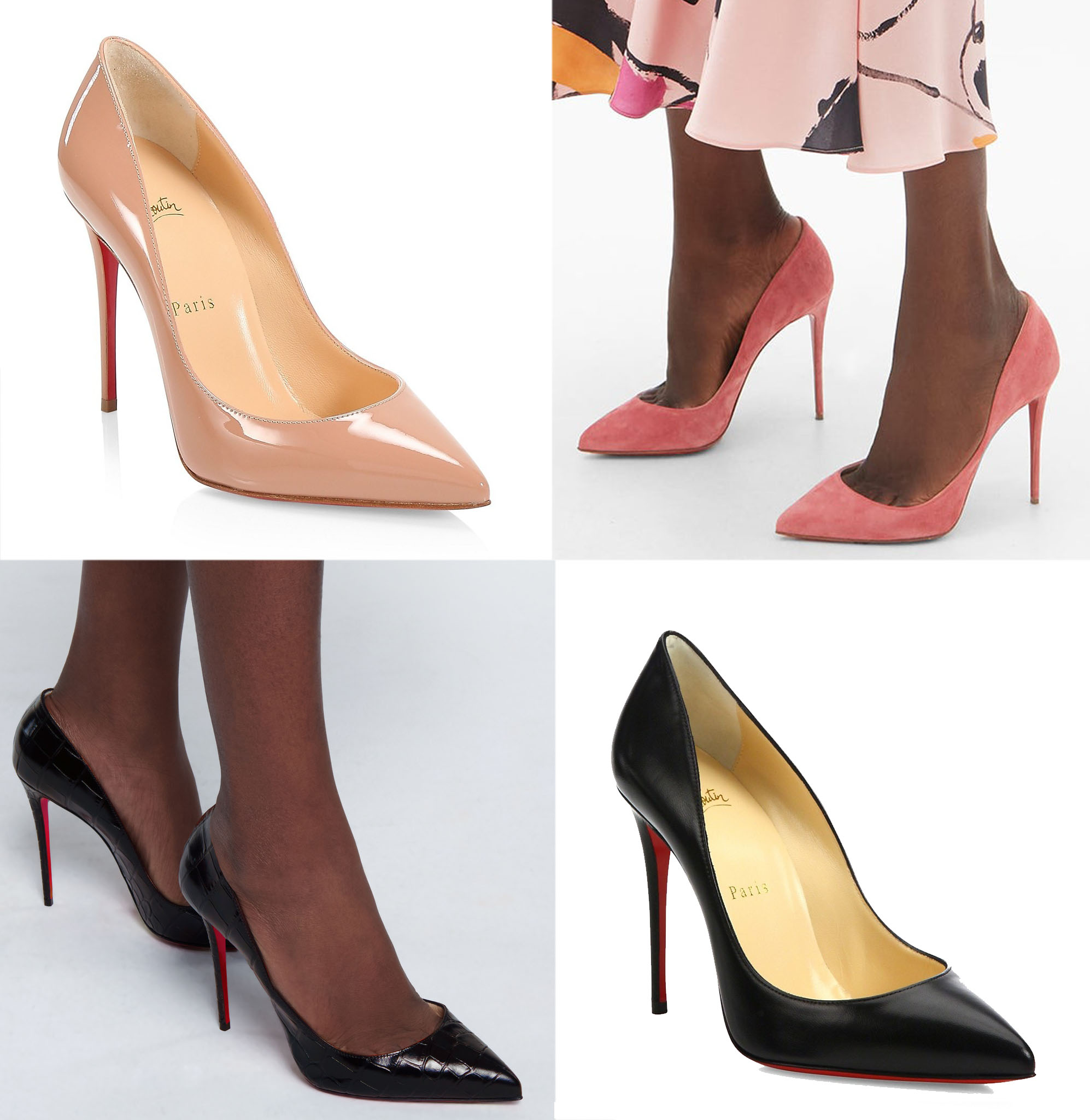 The Pigalle Follies has a slightly longer toe box than the Pigalle but shorter than the So Kate