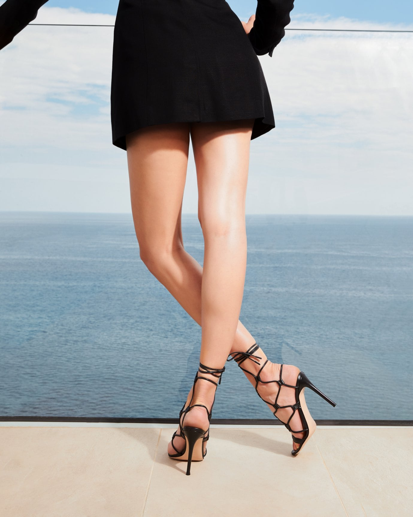 Named after the Egyptian city of Giza, these Gianvito Rossi sandals are guaranteed to attract a lot of attention this summer