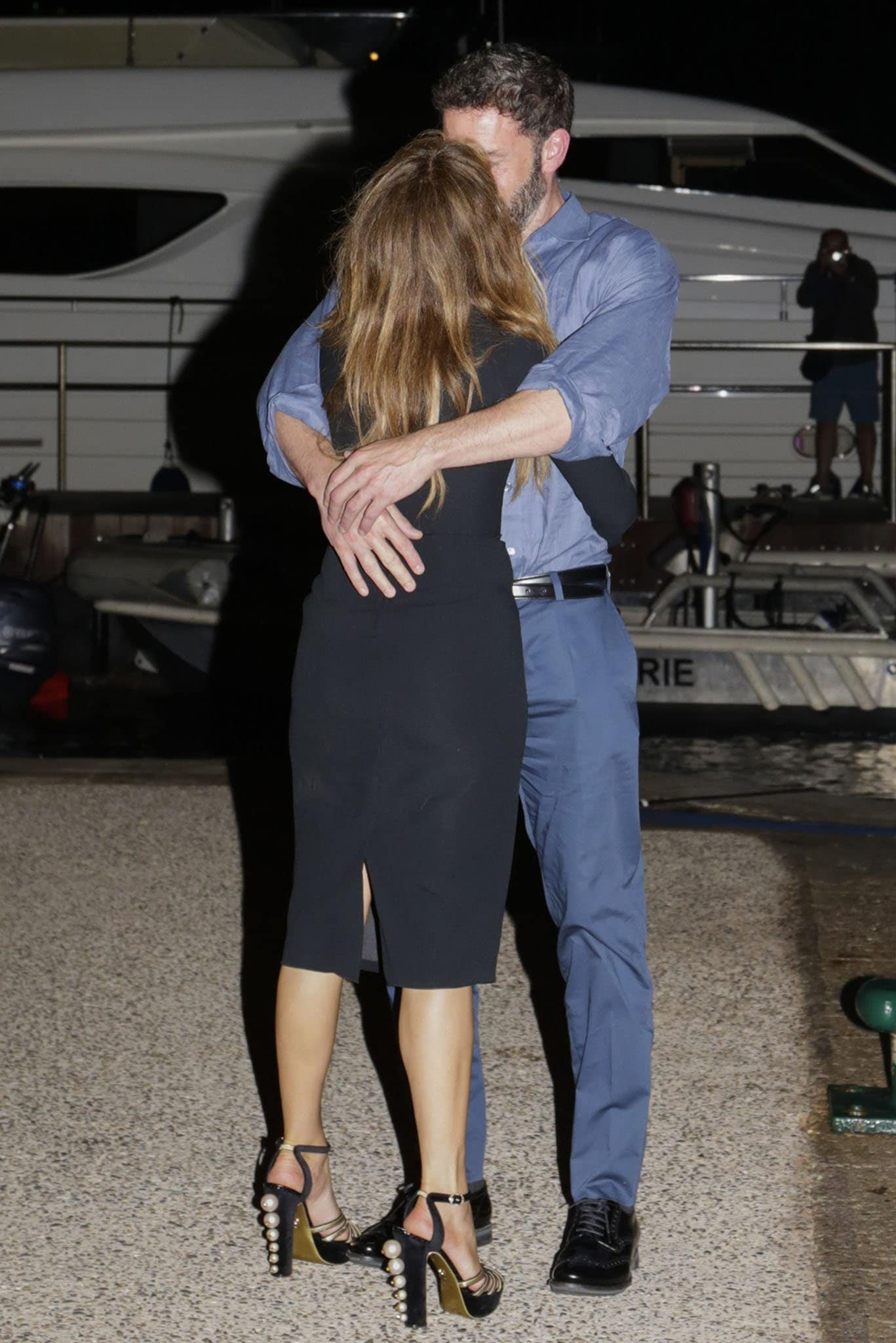 Ben Affleck and Jennifer Lopez pack on the PDA after leaving French restaurant L'Opera at 2AM