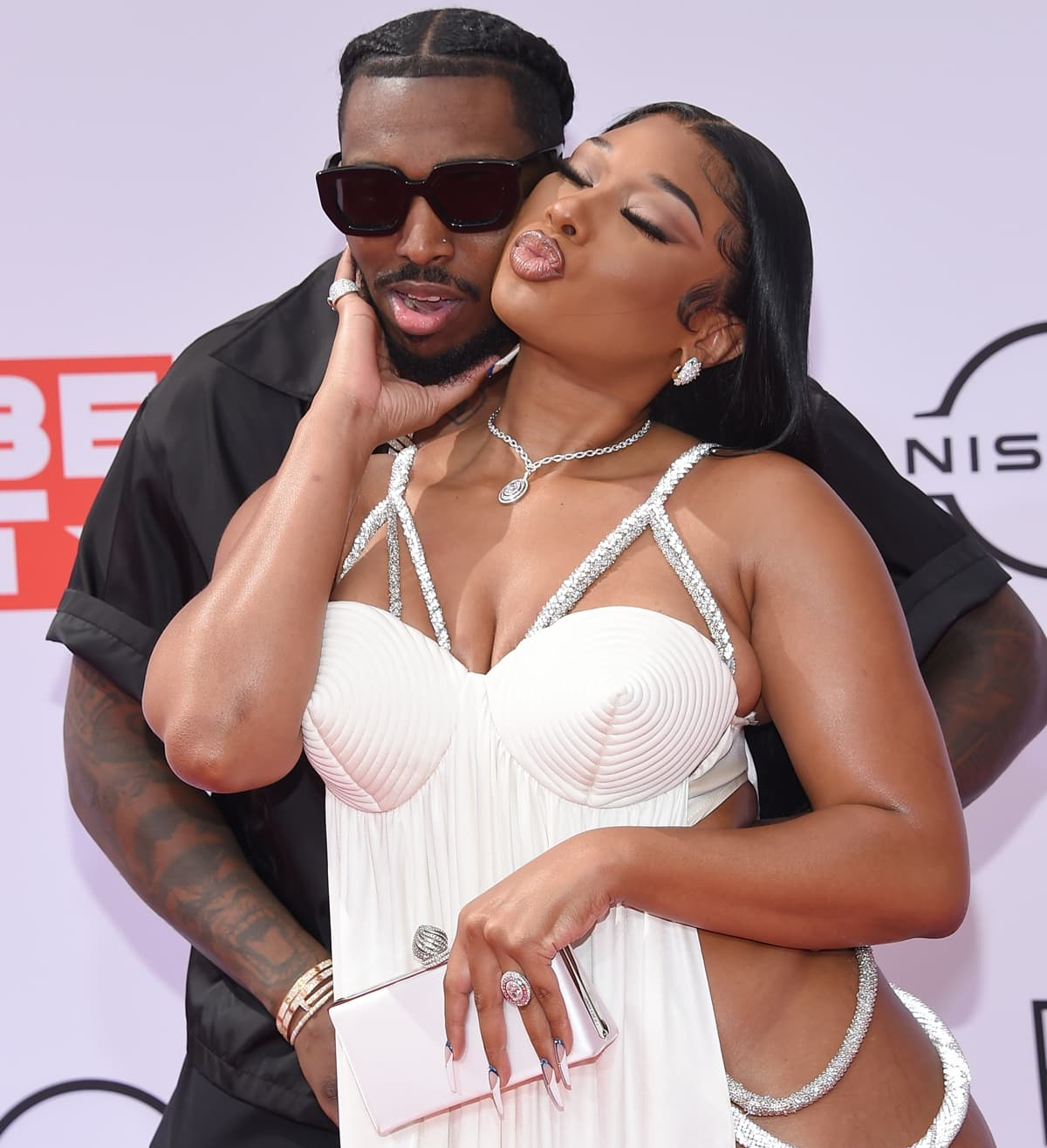 Megan Thee Stallion started dating fellow rapper Pardison Fontaine in February 2021