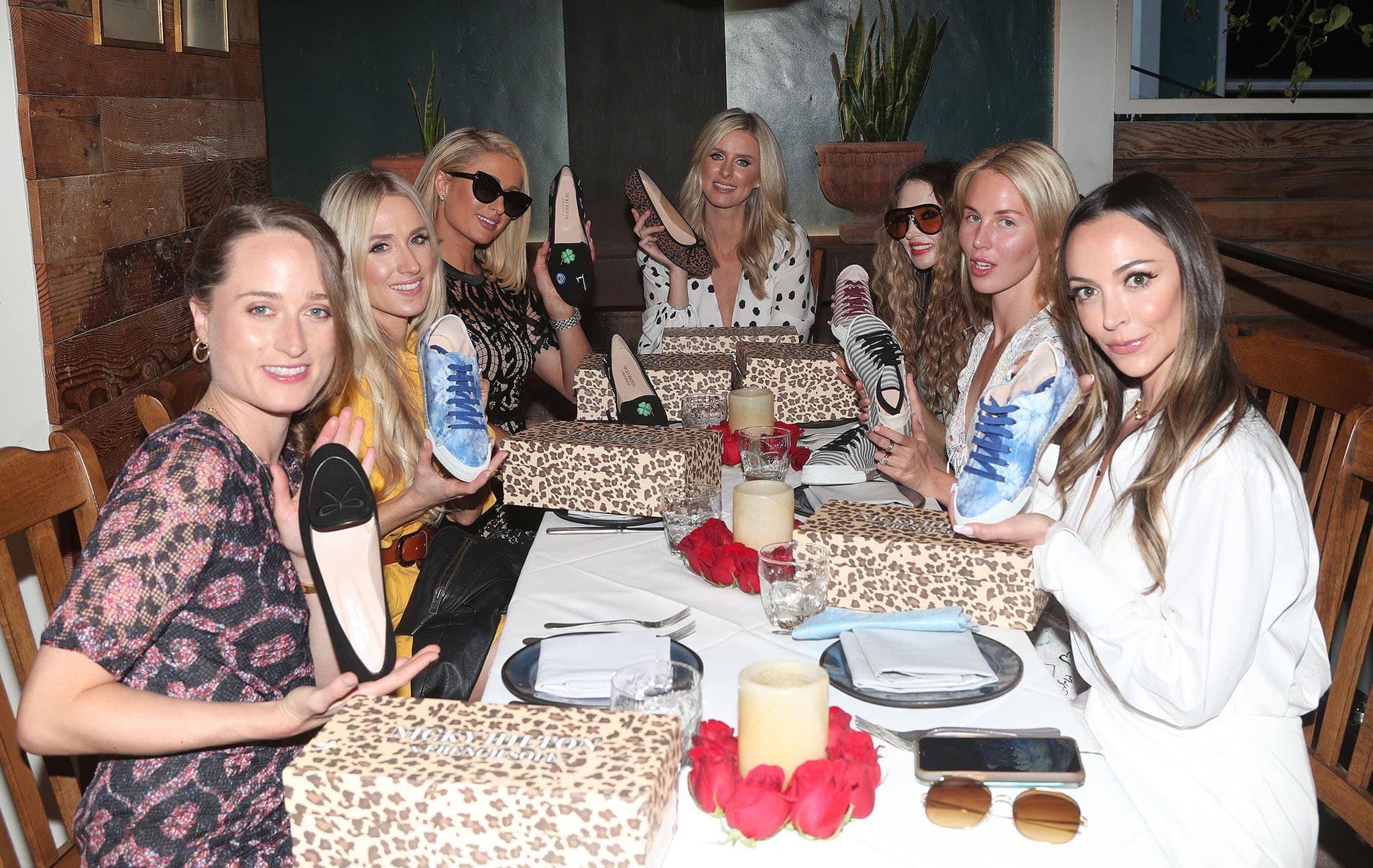 Nicky Hilton gives her friends shoes from her French Sole collaborative collection