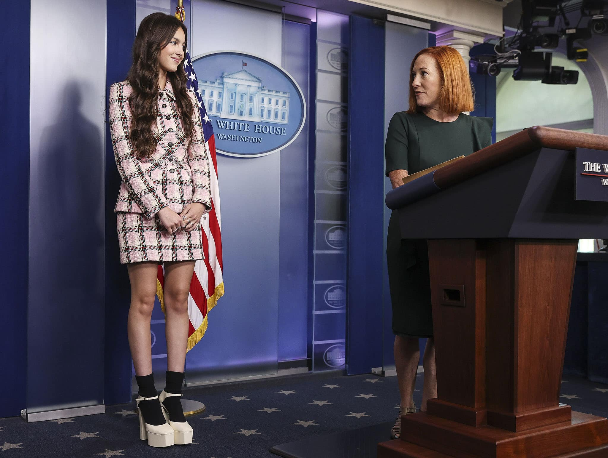 President Biden's administration tapped Olivia Rodrigo to urge young people to get vaccinated against COVID-19