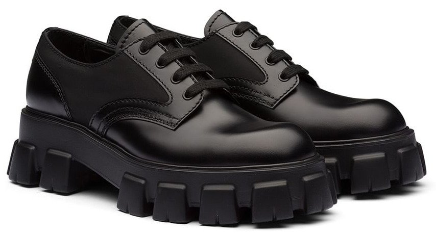 The Prada Monolith is a must-have for men who want to look a few inches taller without a visible high heel