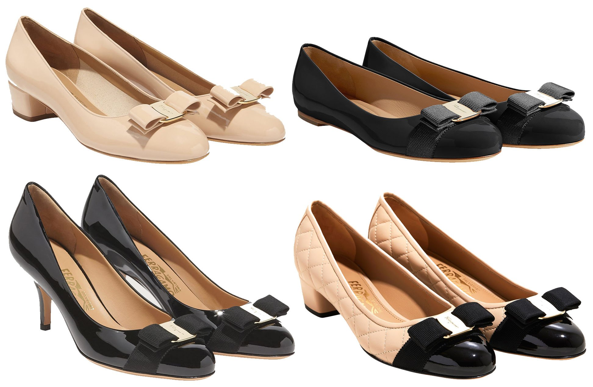 Salvatore Ferragamo's most iconic style is the Vara, which comes in different silhouettes and materials