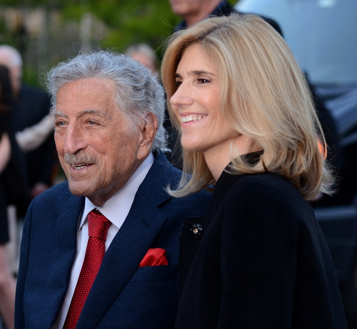 Tony Bennett is 40 years older than his wife Susan Benedetto (née Crow)