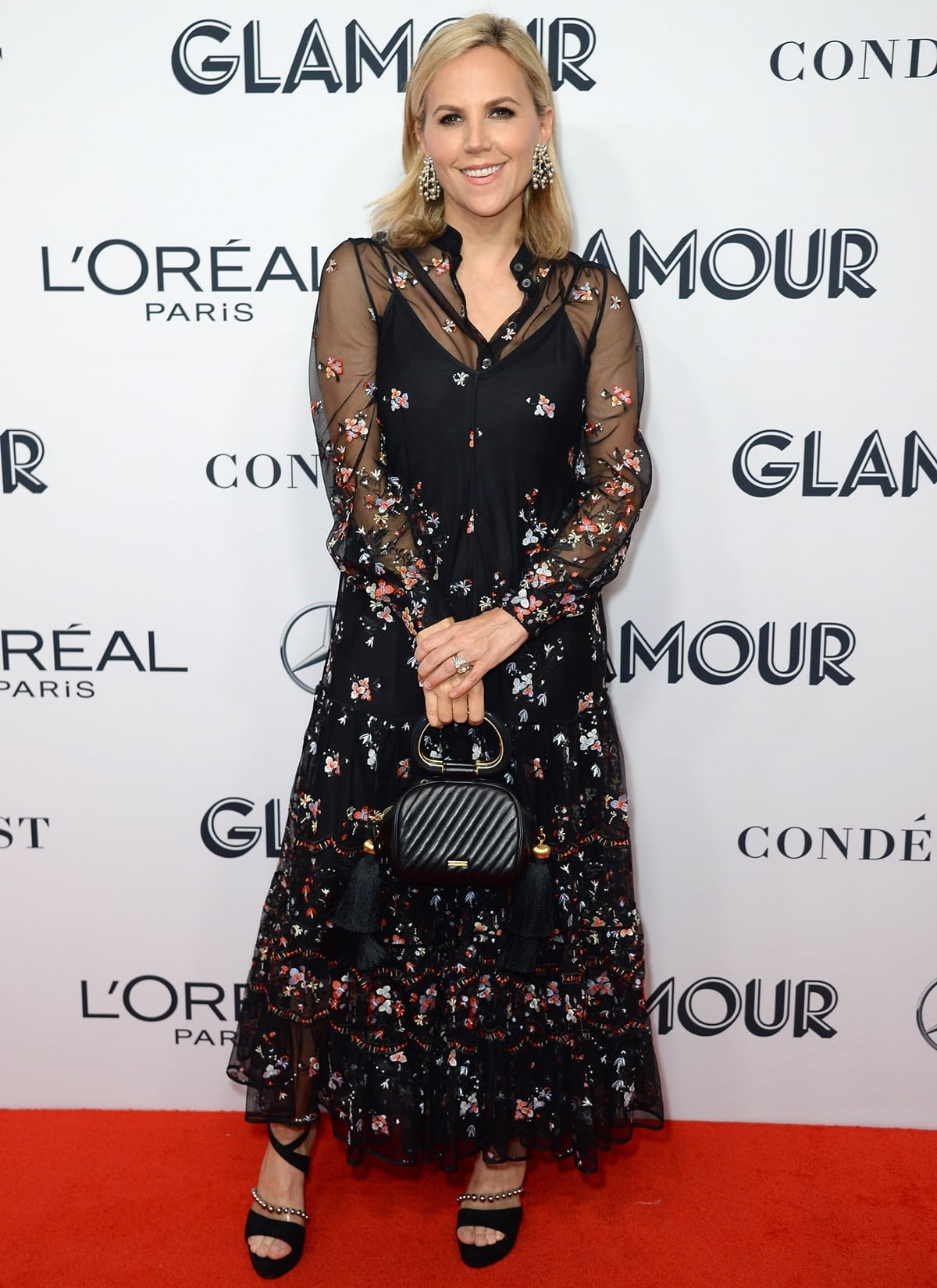 Tory Burch took home The Visionary honor at the 2019 Glamour Women Of The Year Awards