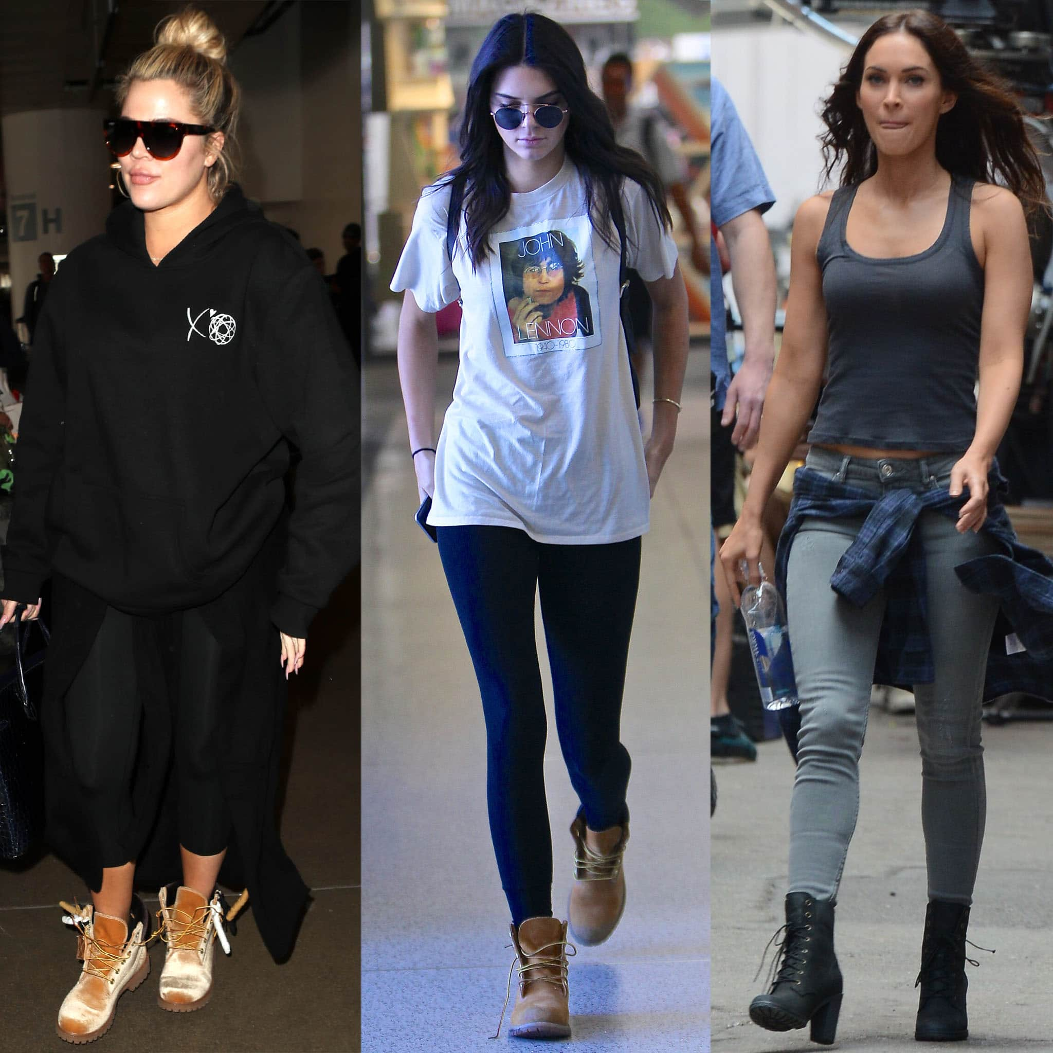 Khloe Kardashian, Kendall Jenner, and Megan Fox are just three of the many celebrity fans of Timberland boots