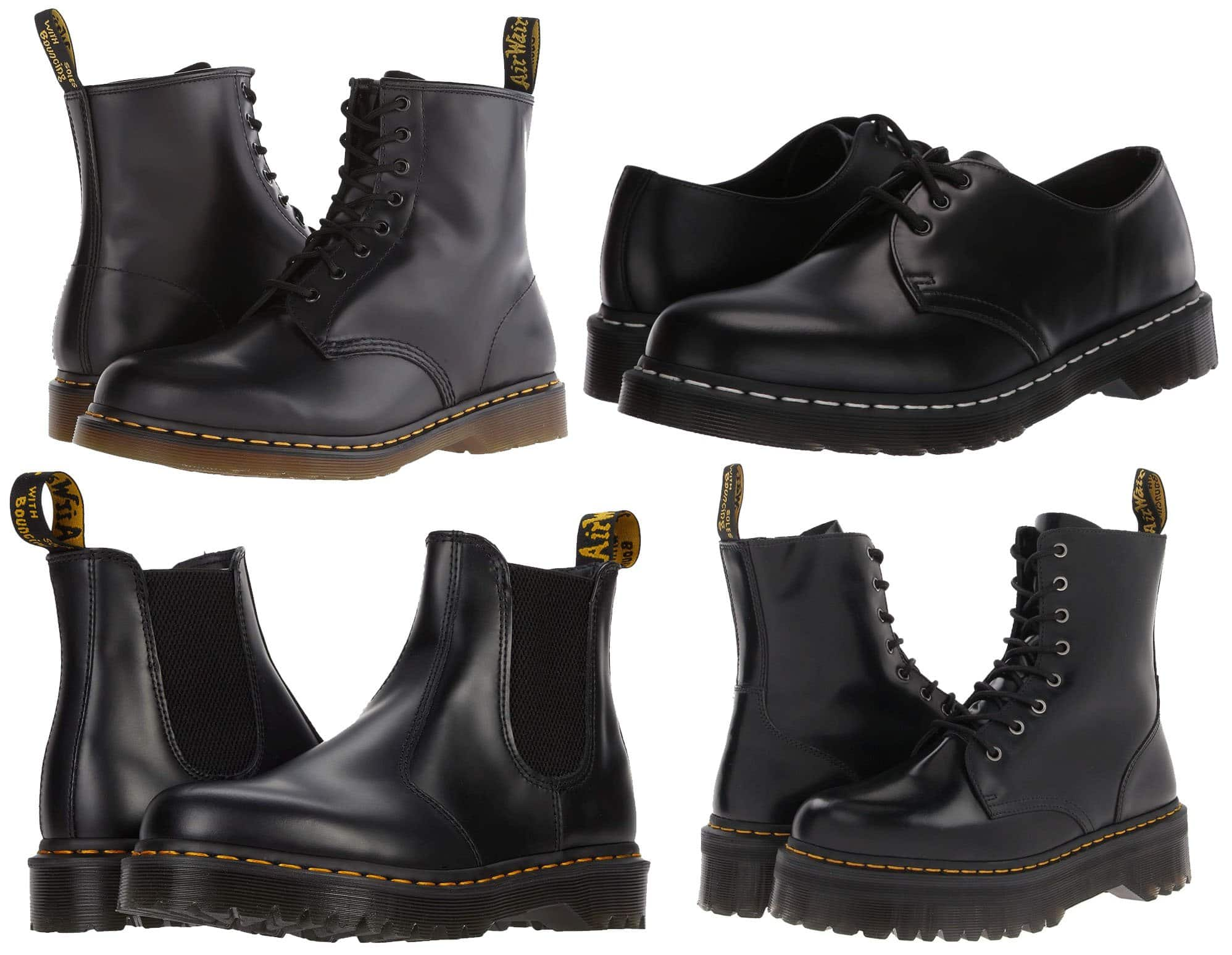 For affordable yet durable footwear that will last for years, go with Dr. Martens' classic silhouettes