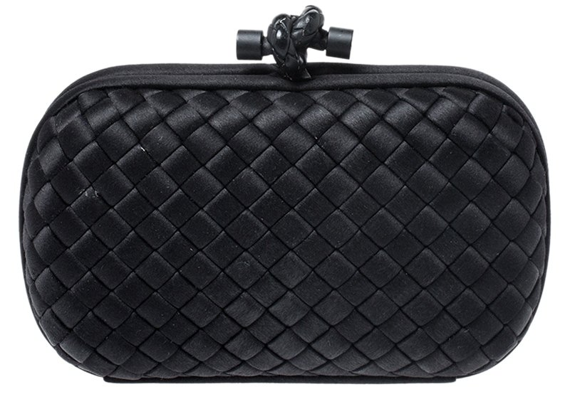 Designed by Tomas Maier in 2001, the Knot clutch is one of the most recognizable clutch designs from Bottega Veneta