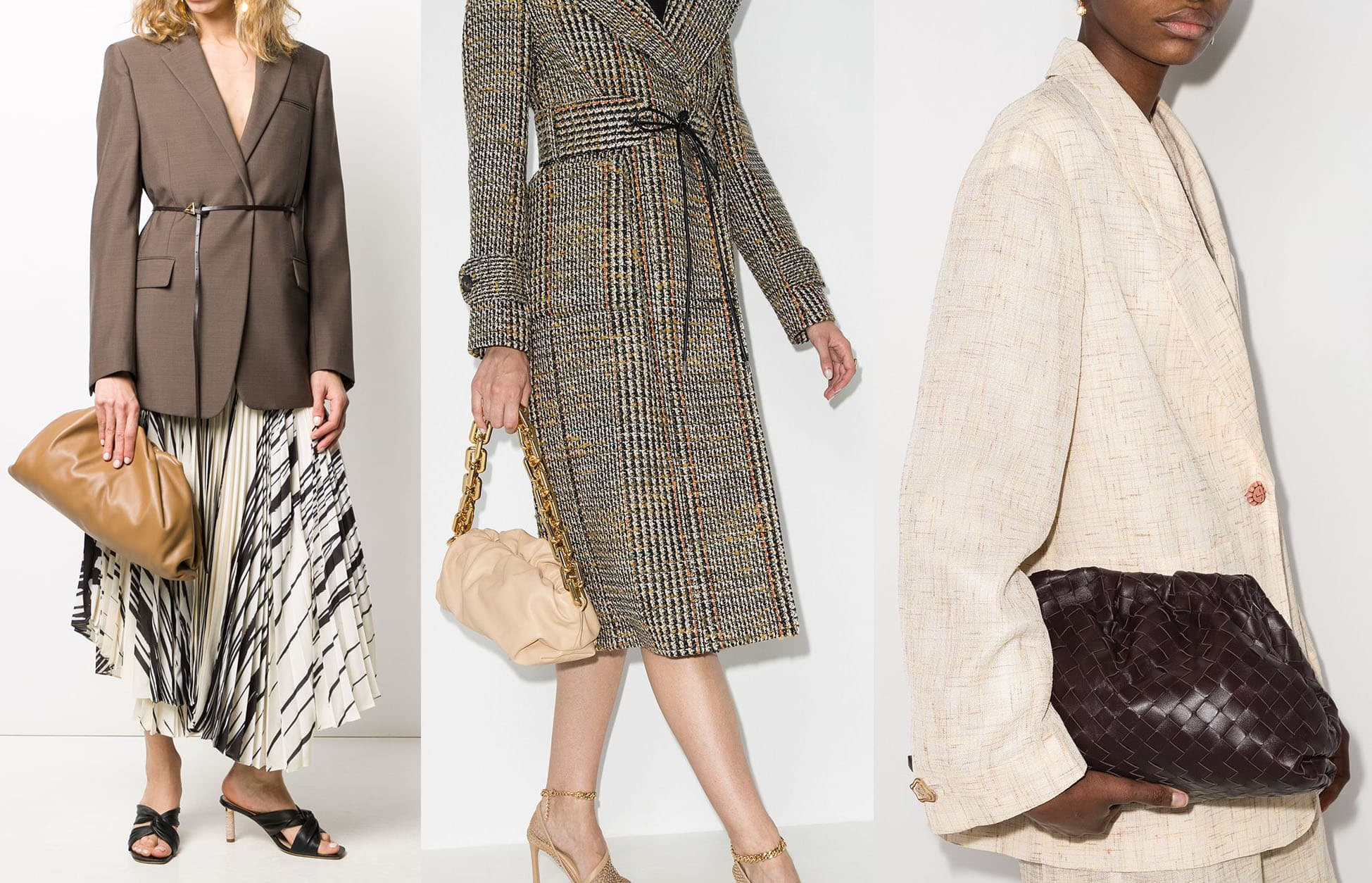Introduced in 2019, Bottega Veneta's The Pouch clutch became the brand's fastest-selling bag