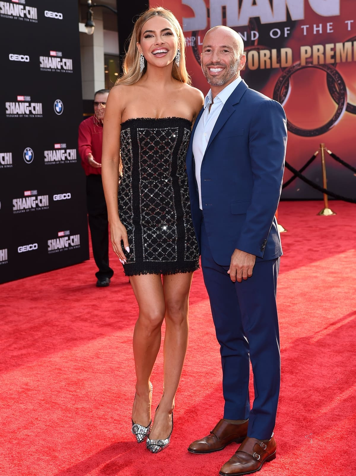 40-year-old former soap opera actress Chrishell Stause and 44-year-old real estate broker Jason Oppenheim