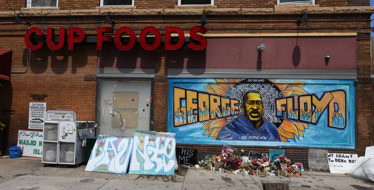 George Floyd was killed on May 25, 2020, outside Cup Foods after Floyd was suspected of trying to use a counterfeit $20 bill in the store