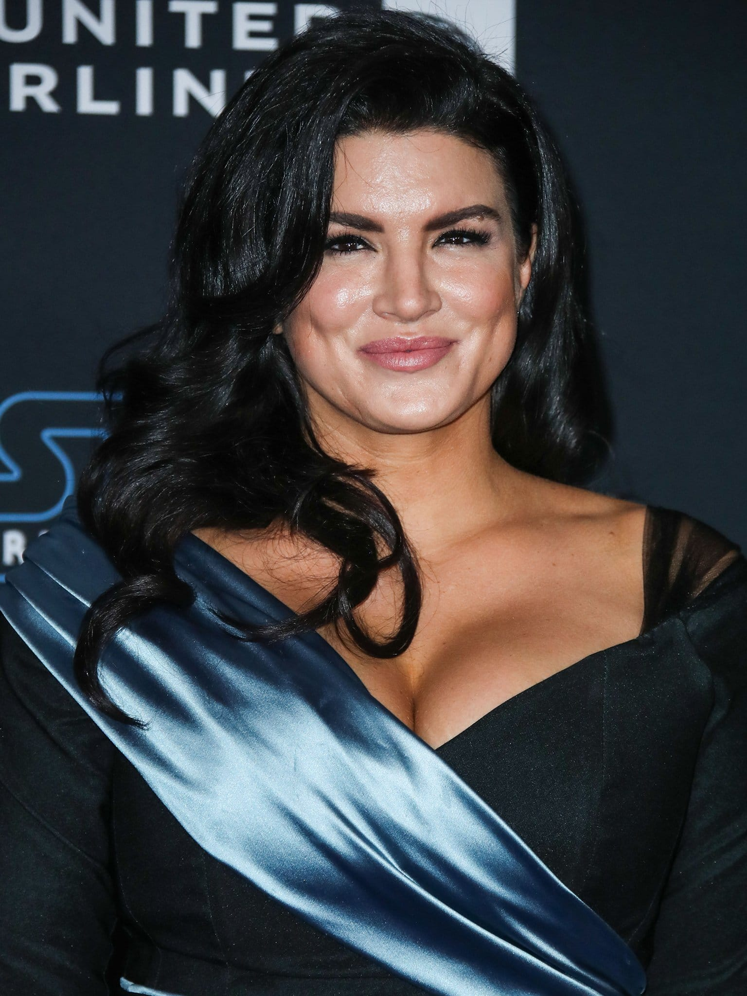 Gina Joy Carano at the world premiere of Disney's Star Wars: The Rise Of Skywalker