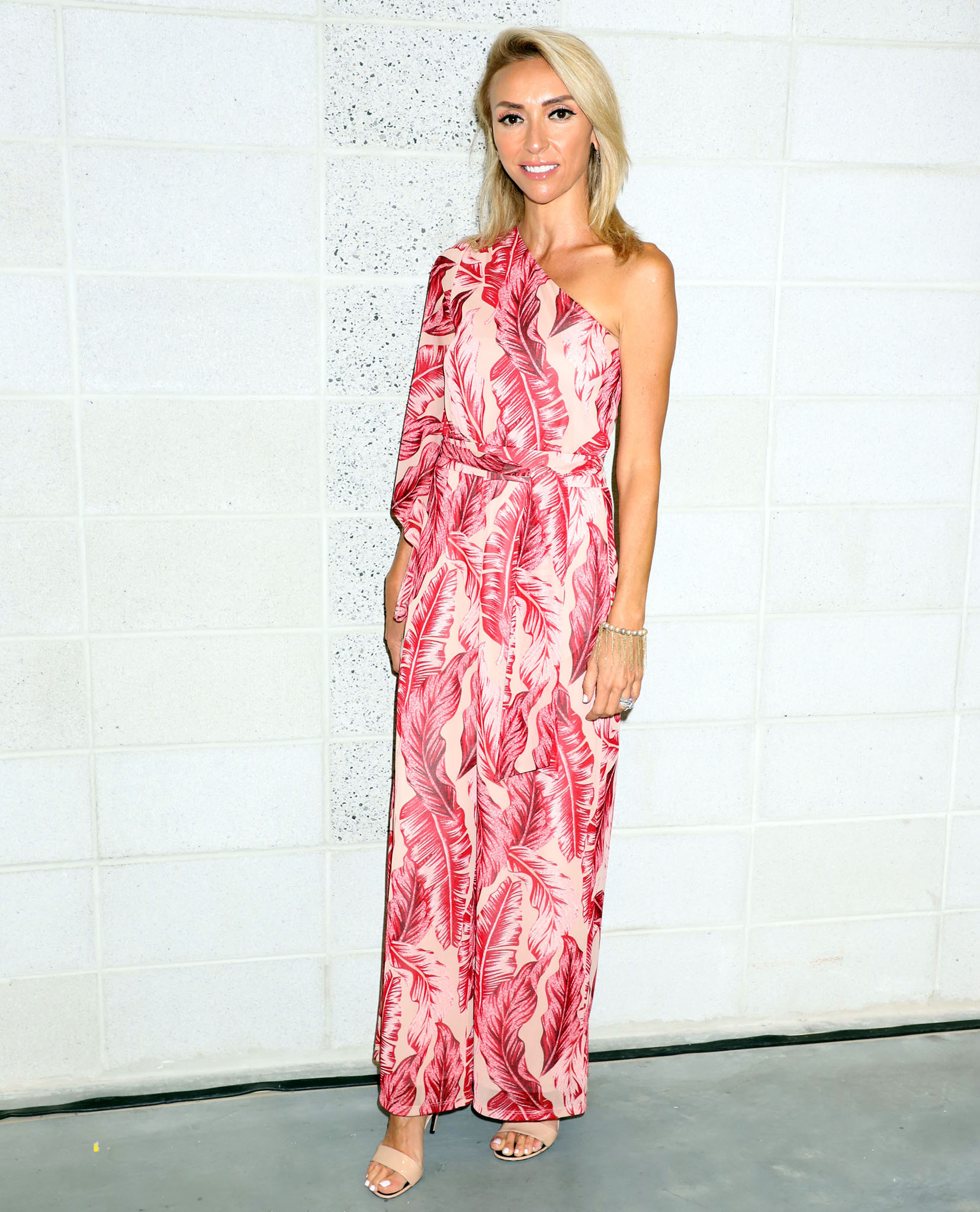 Giuliana Rancic at the Magic Fashion Trade Show in Las Vegas on August 10, 2021