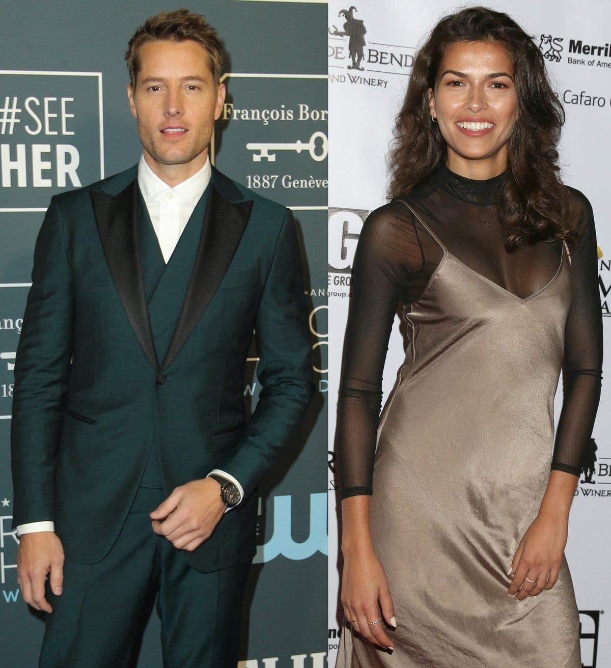 Justin Hartley and Sofia Pernas began dating in early 2020 and married in May 2021