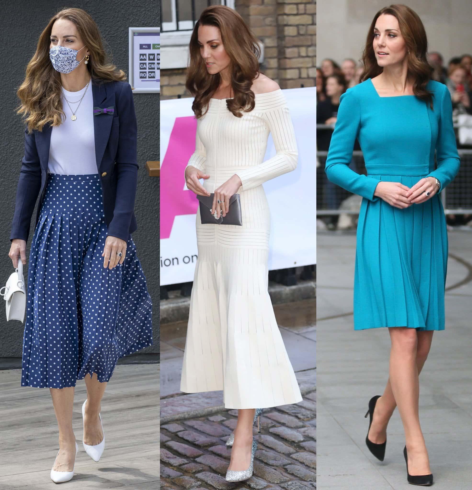 Duchess of Cambridge, Kate Middleton, is a fan of Jimmy Choo Romy pumps