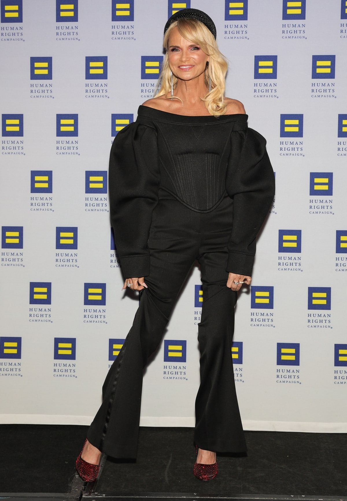 Event honoree Kristin Chenoweth attends the Human Rights Campaign's 19th Annual Greater New York Gala
