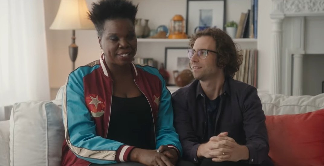 Leslie Jones and Saturday Night Live co-star Kyle Mooney play a married couple on SNL