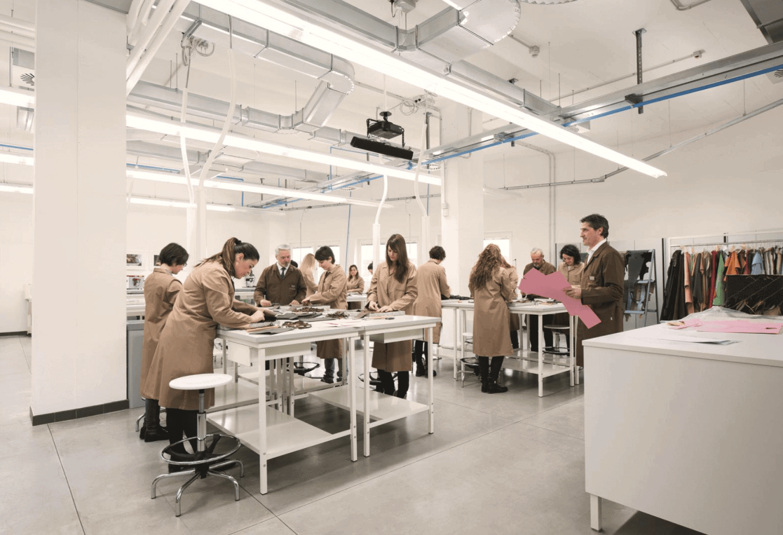 Under Bottega Veneta Creative Director Tomas Maier, the fashion house launched the La Scuola dei Maestri Pellettieri di Bottega Veneta-- a school dedicated to training new craftsmen