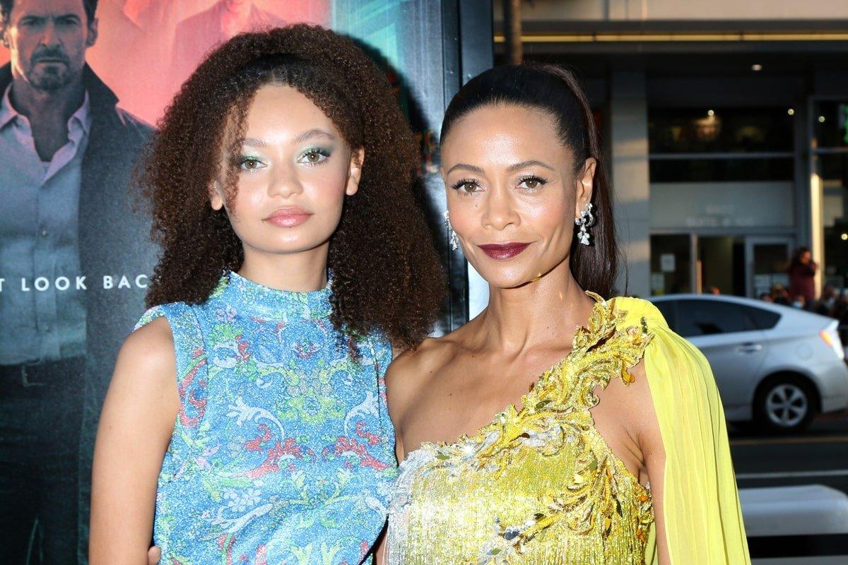 Melanie Thandiwe Newton Parker and her daughter Nico Parker