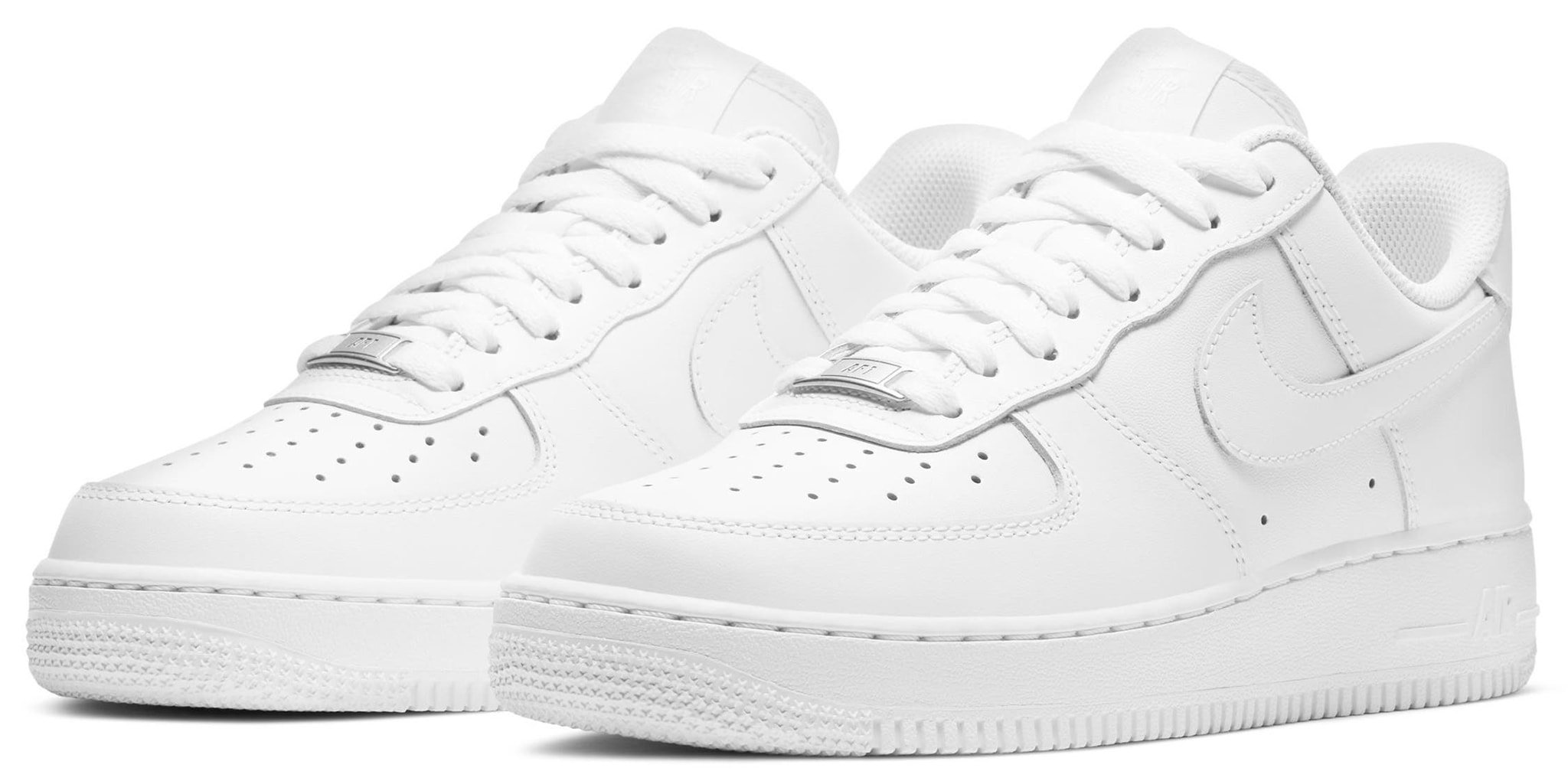 These iconic sneakers have a streamlined minimalist low profile with stitched leather overlays