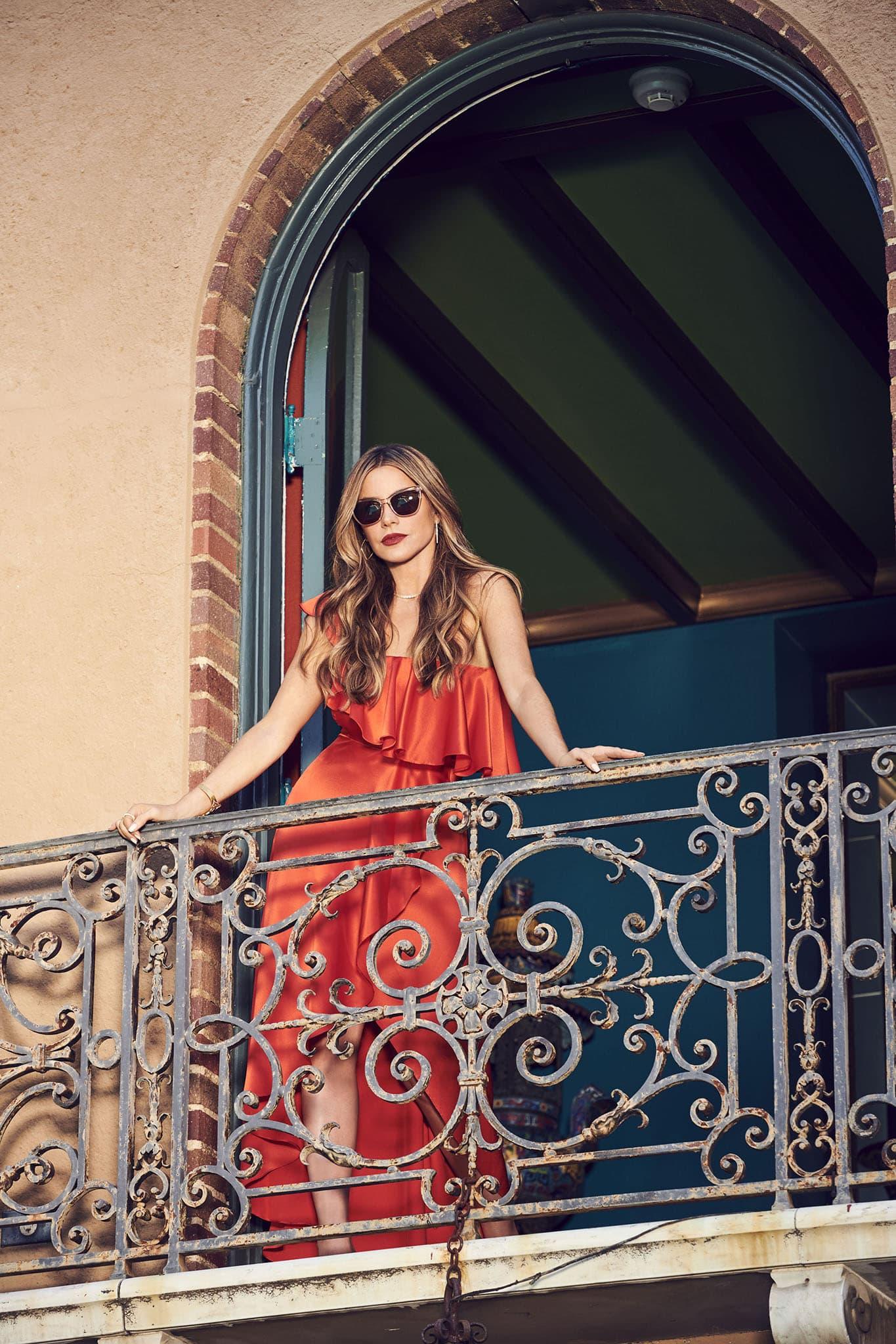 Sofia Vergara wearing her Foster Grant sunglass design