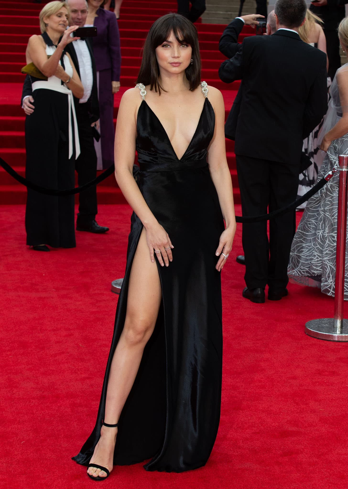 Ana de Armas at the world premiere of No Time to Die held at the Royal Albert Hall in London on September 28, 2021