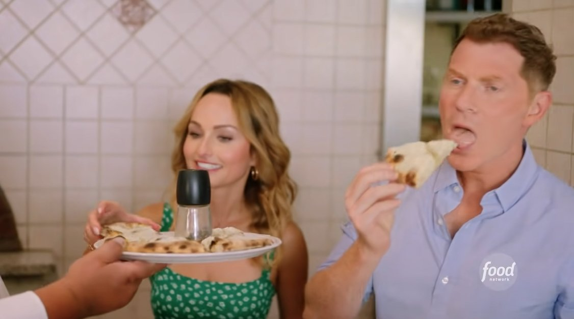 Bobby and Giada in Italy is a travelogue series Discovery's streaming service, discovery+