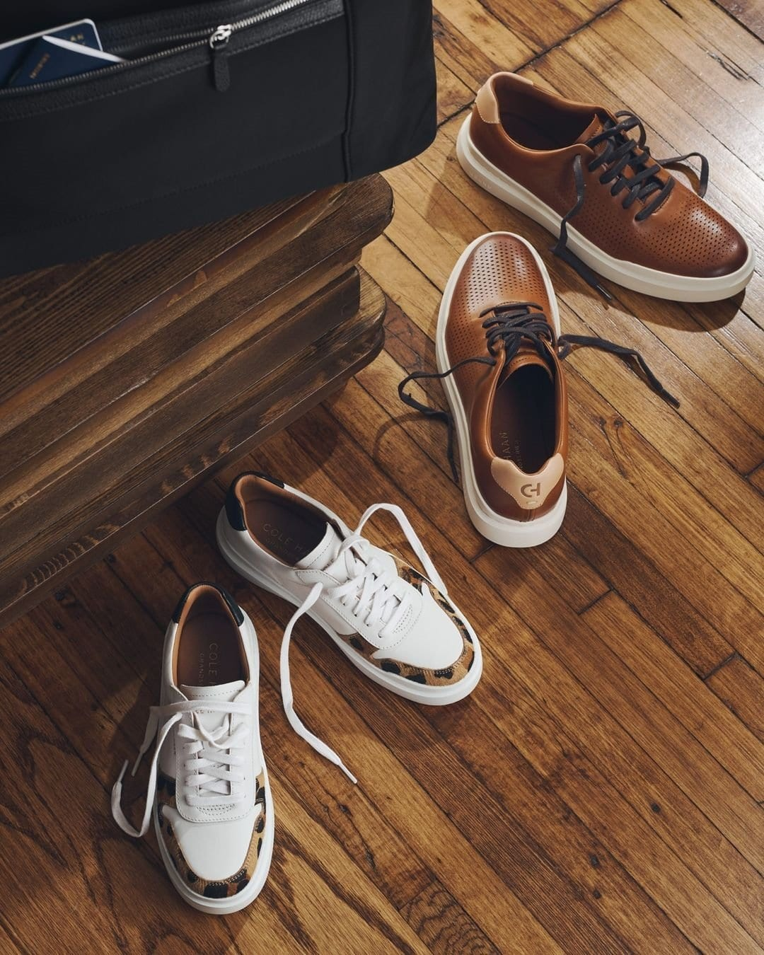 Cole Haan is famous for its comfy and breathable GrandPrø Rally sneakers