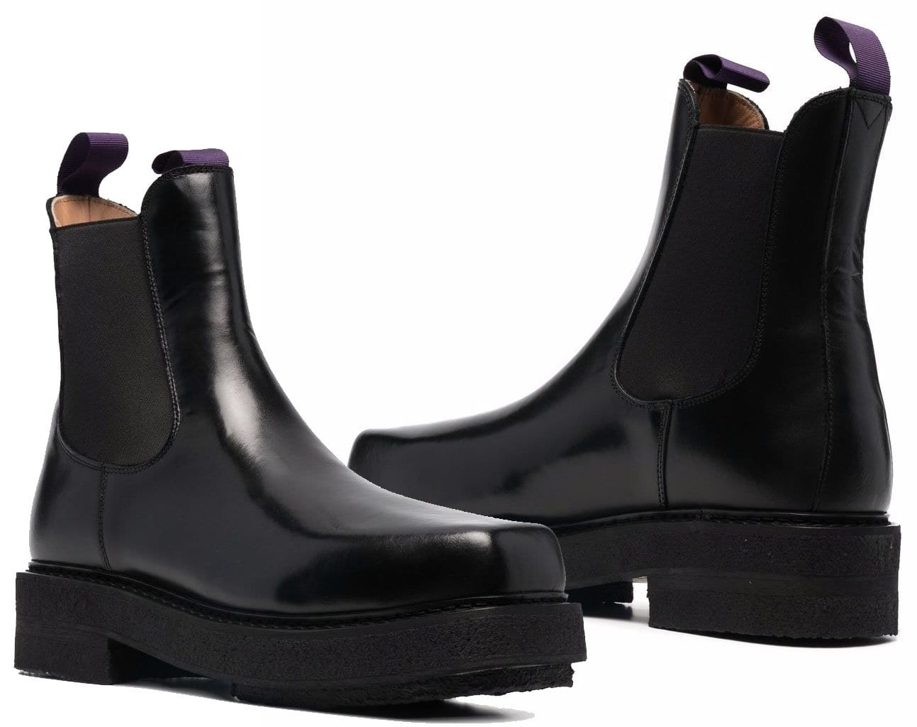 Eytys' Ortega boot features chunky platform soles that add a contemporary twist to the classic Chelsea silhouette