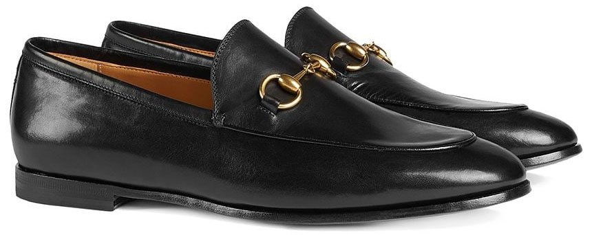A classic favorite, Gucci's Jordaan loafers have a timeless design featuring the house's signature Horsebit detail