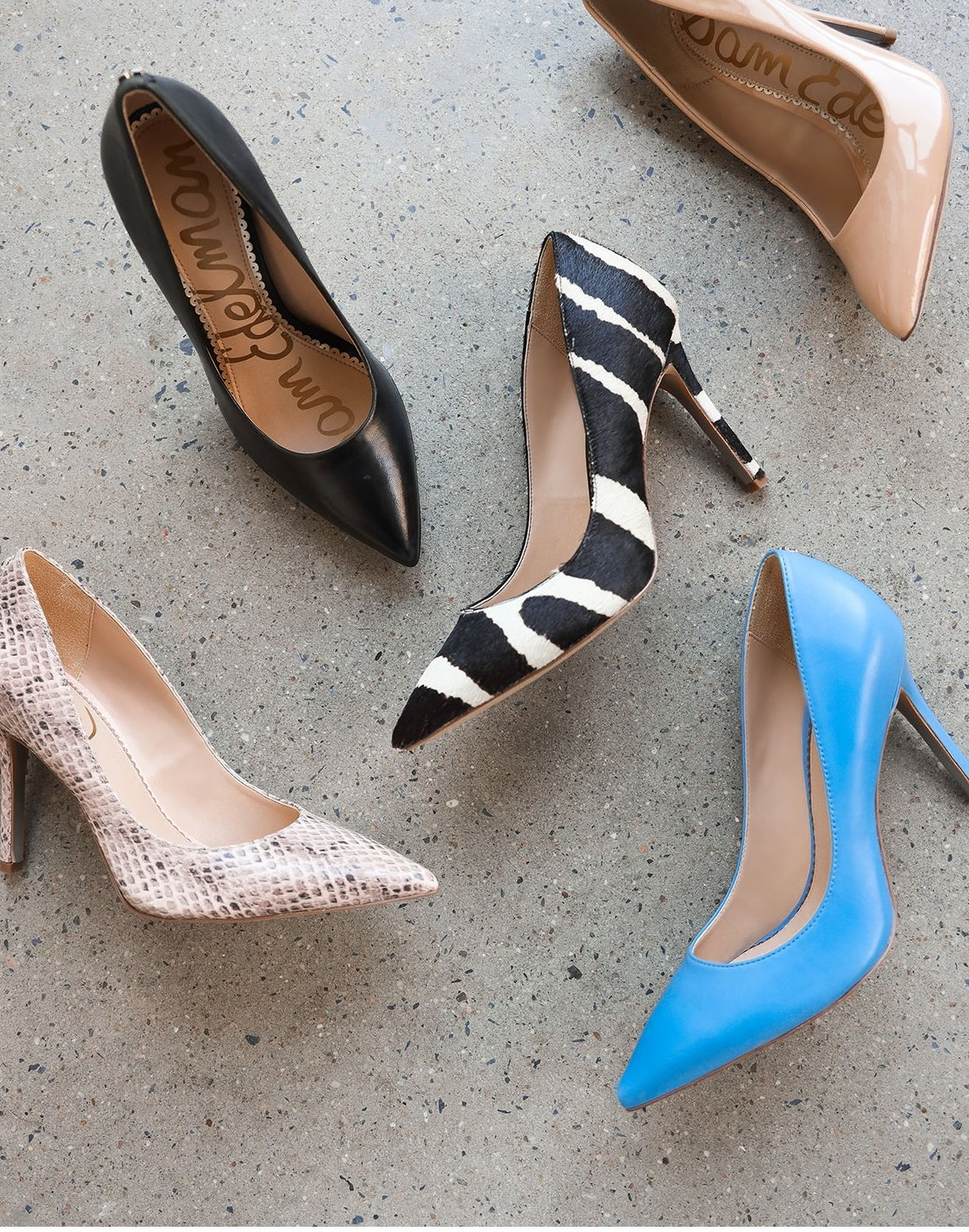 Sam Edelman's popular Hazel pumps have the comfort and fit technology that can take you from all day to all night