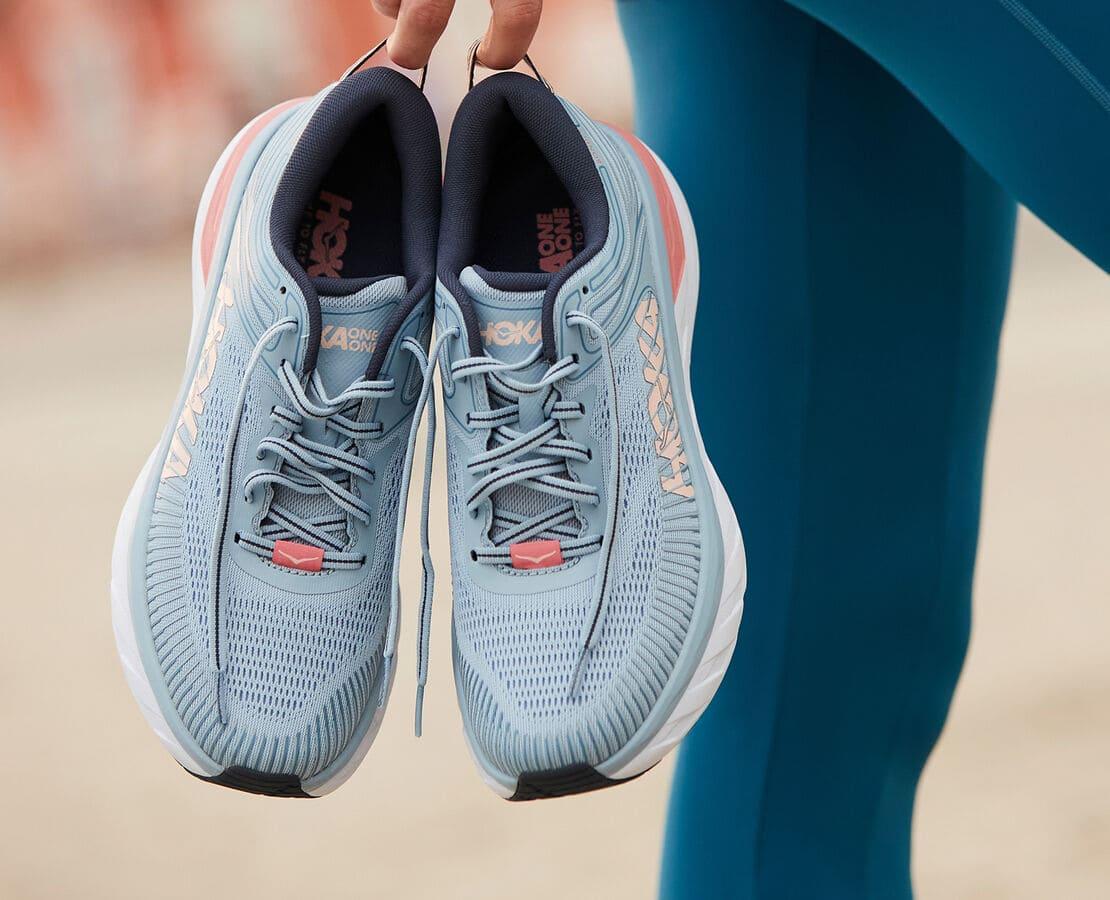 Bondi 7 is the most cushioned shoe in the Hoka road-shoe lineup