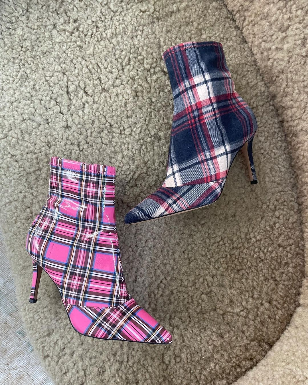 A pointy toe and high heel make this bootie from Jessica Simpson a standout choice for around-town wear