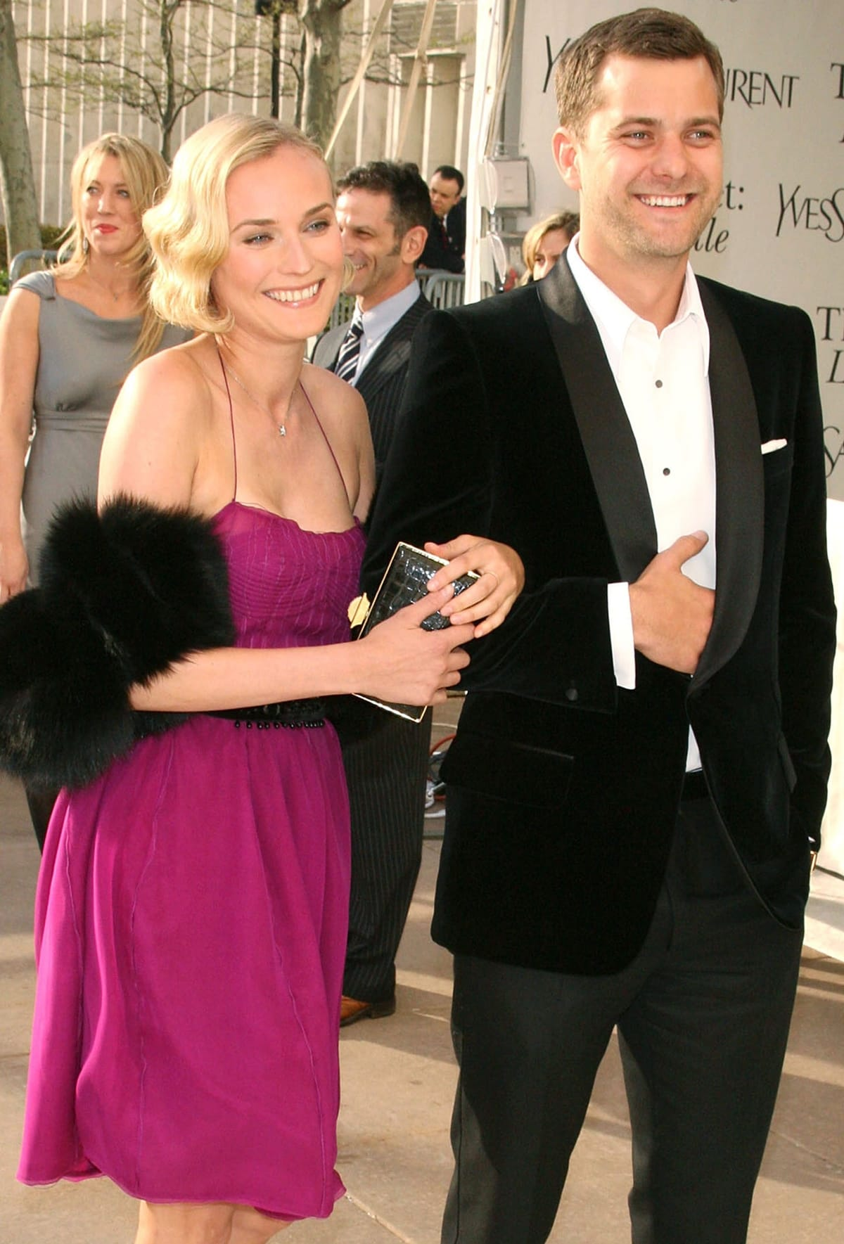 Joshua Jackson and Diane Kruger dated for ten years before breaking up in July 2016