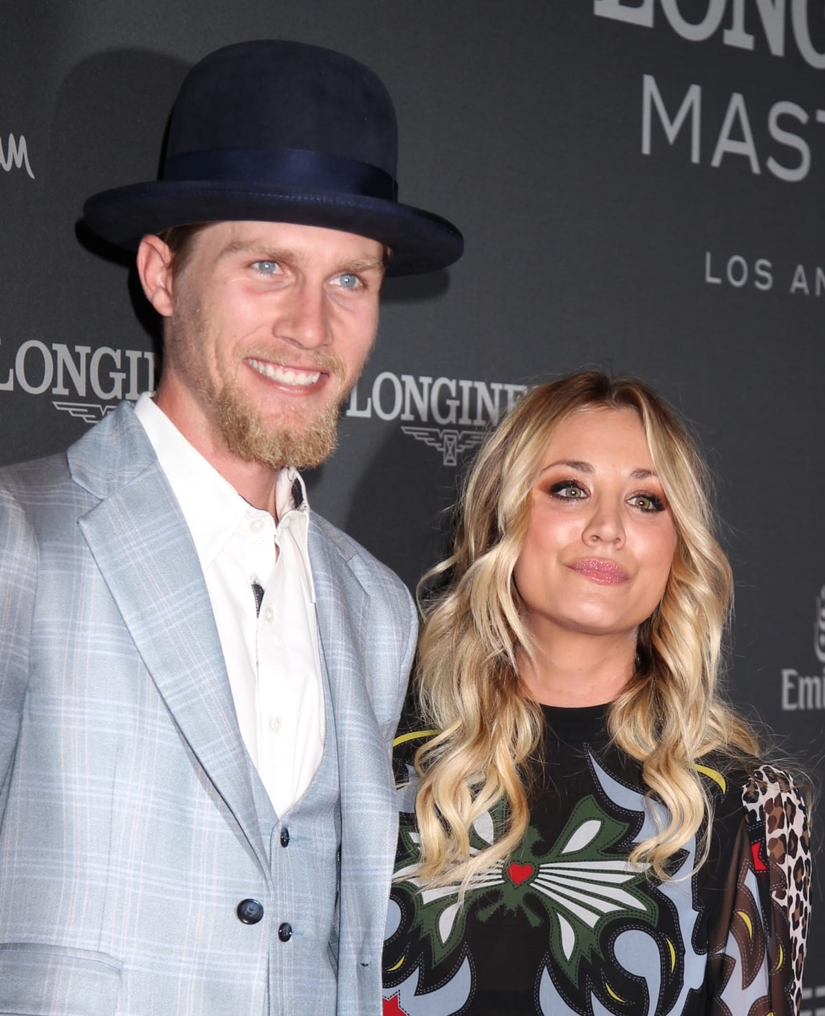 Equestrians Kaley Cuoco and Karl Cook started dating Cook in 2016 and got engaged on her birthday in November 2017